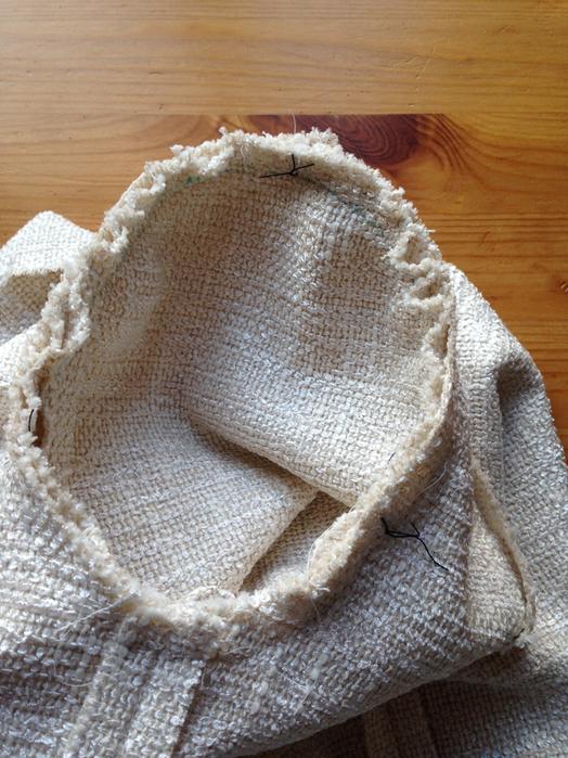 Как правильно припосадить руккав по окату