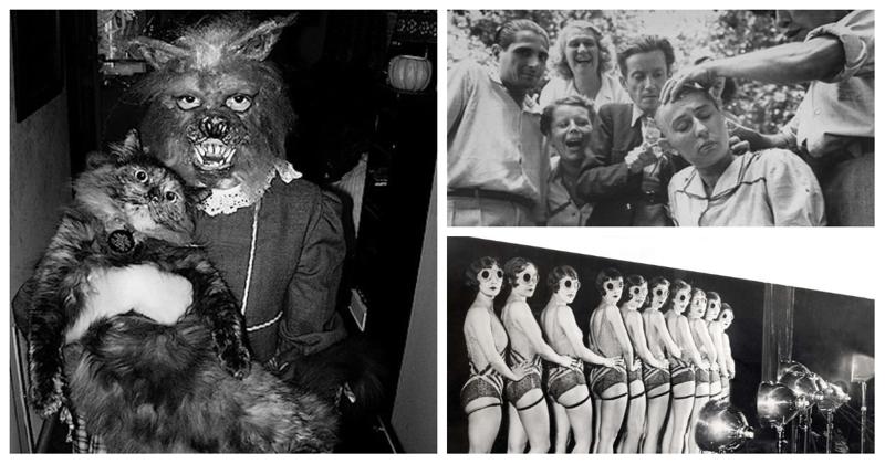 25 странных фотографий прошлого, требующих объяснения