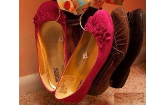 Идея для аккуратного хранения обуви