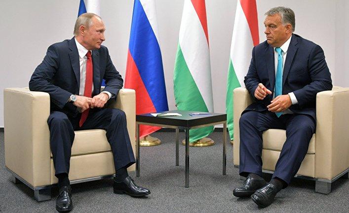 Орбан попросил Путина продли…
