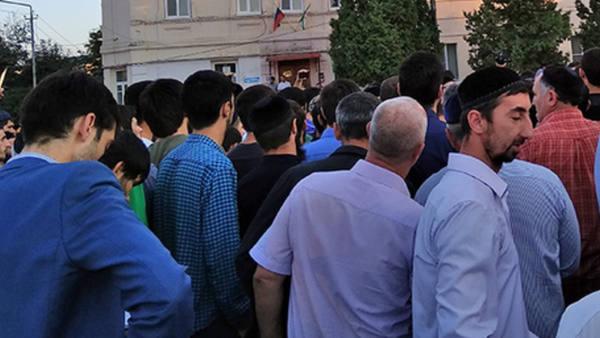 В Ингушетии активисты потребовали не отдавать землю Кадырову