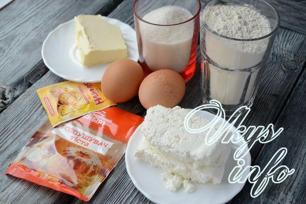 Творожный кекс фото ингредиенты