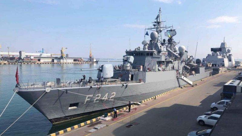 В Киеве считают, что Россия, Британия и США должны спасти флот Украины
