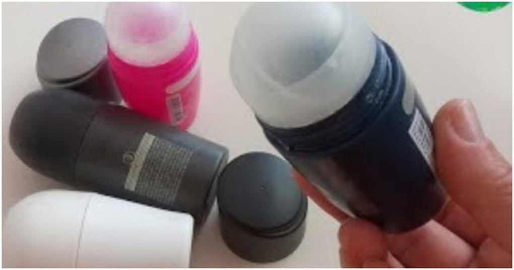 Оказывается флаконы от дезодорантов можно использовать с умом