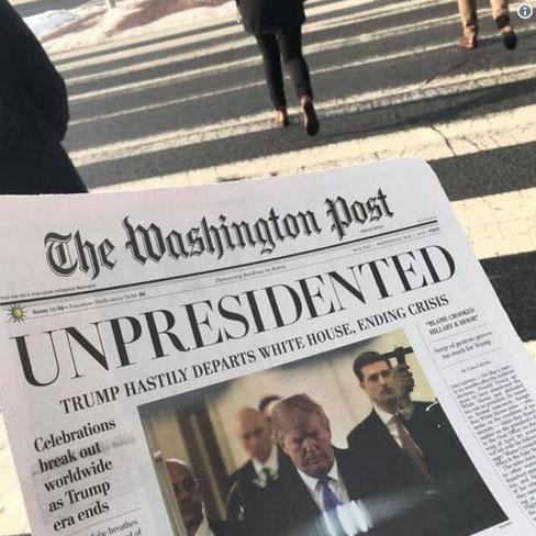 МОЛНИЯ! Трамп сбежал из Бело…