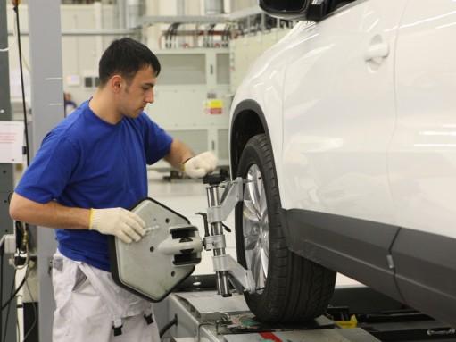 Завод Volkswagen в Калуге останавливается на две недели