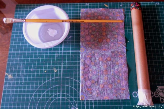 Как сделать держатель для бумажного полотенца своими