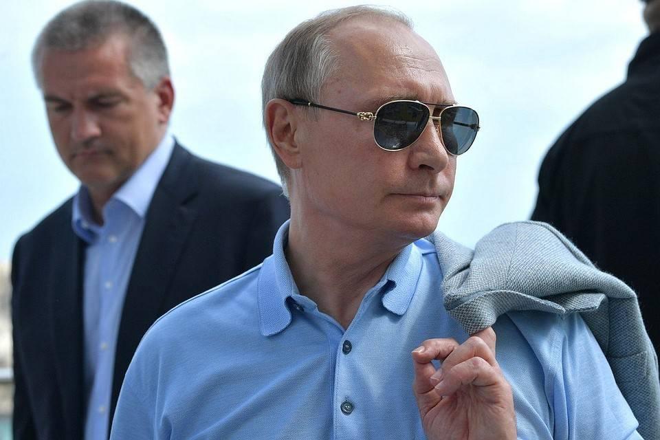 Севастополь не дождался Путина