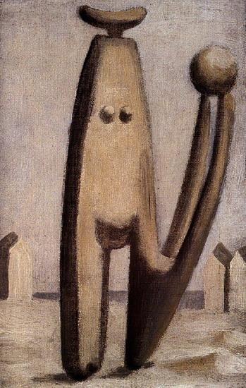Пабло Пикассо. Купальщица с мячом . 1929 год