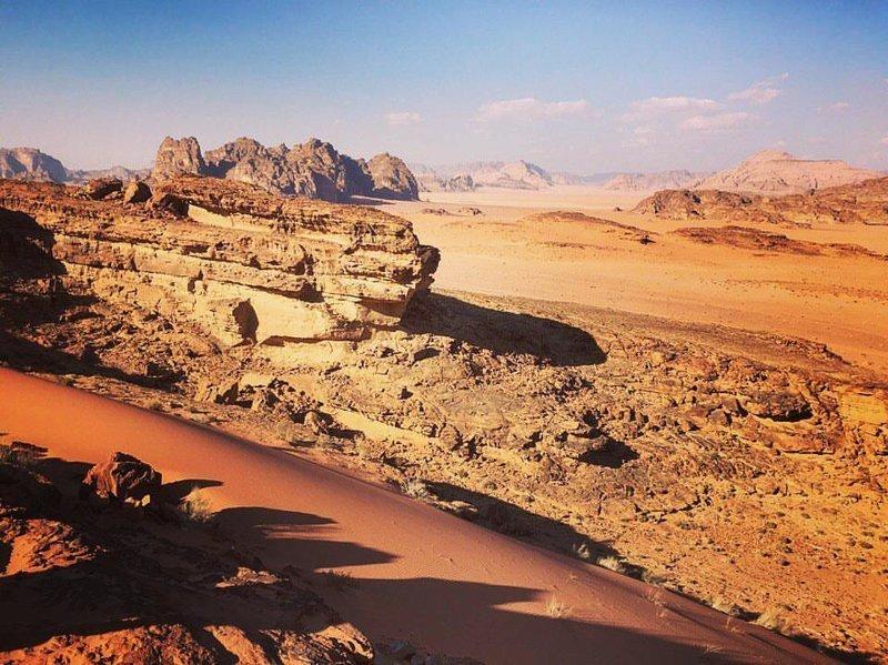 Иордания марс, марсианские пейзажи, необычная местность, пейзажи, похоже на Марс, странная местность