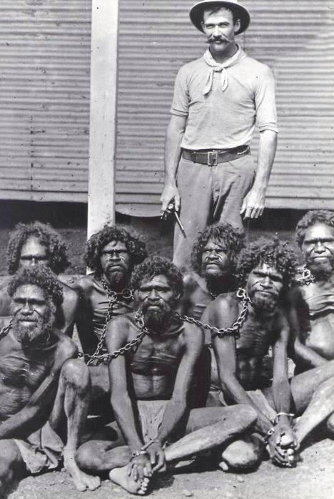 В позапрошлом веке отношение европейцев к аборигенам было очень жестоким. /Фото:yablor.ru