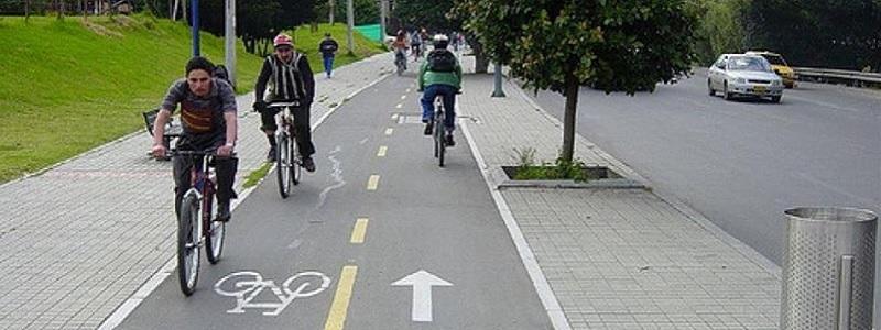 Скорость на дорогах города могут снизить из-за велосипедистов