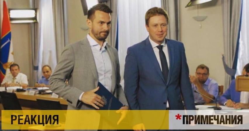 С «Титаника» губернатора Севастополя побежали крысы