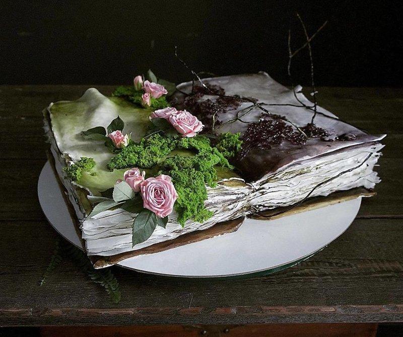 25 потрясающих тортов от российского кондитера Елены Гнут