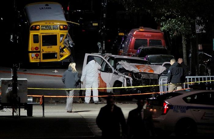 Это снова повторяется, но уже не в Лас-Вегасе… Трагедия в Нью-Йорке. Террорист на грузовике сбивал всех, кто попадался ему на пути!