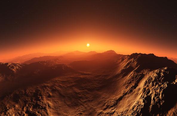 Ученые записали «звук» марсианского восхода