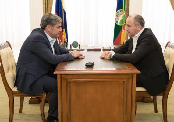 Темрезов и Коков встретились в Черкесске