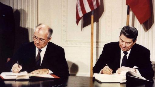 Михаил Горбачёв: Договор РСМД пал жертвой американских амбиций