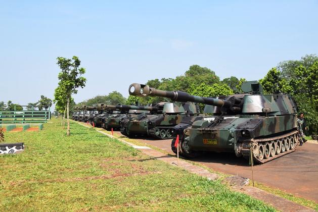 Индонезия получила 155-мм самоходные гаубицы М109А4ВЕ