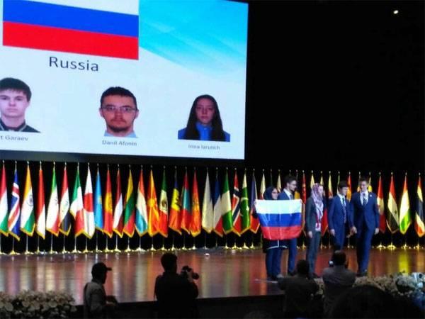 Выдающийся успех российских …