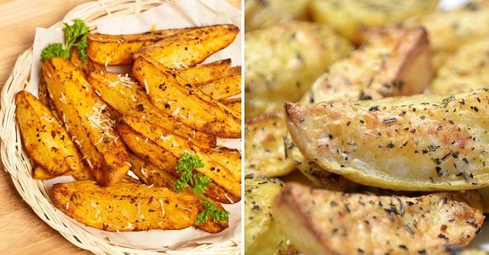 как приготовить картофель по-гречески