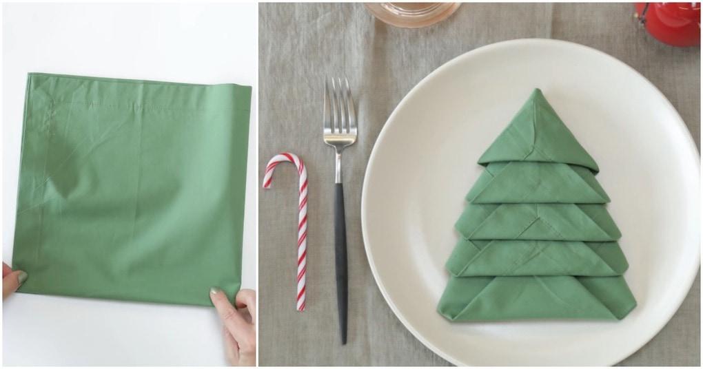 Эффектный штрих праздничной сервировки стола
