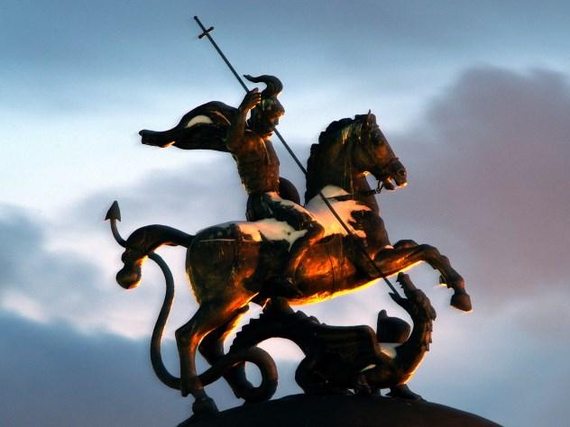Израильские мощи Георгия Победоносца привезли на Дальний Восток