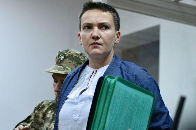 Савченко сообщила, что ей необходима операция