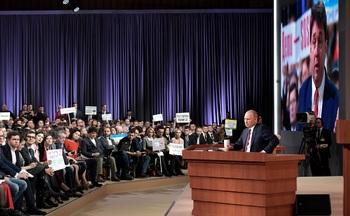Украинцы высмеяли истерику киевского журналиста на пресс-конференции Путина