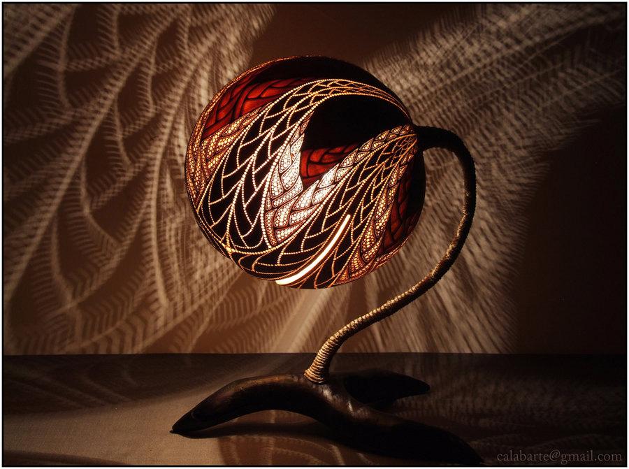 beauty 20 Удивительные светильники из тыкв   произведения искусства