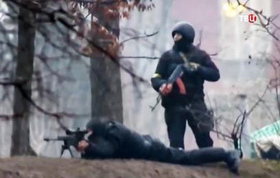 Грузинские снайперы с Майдана готовы дать показания в украинском суде