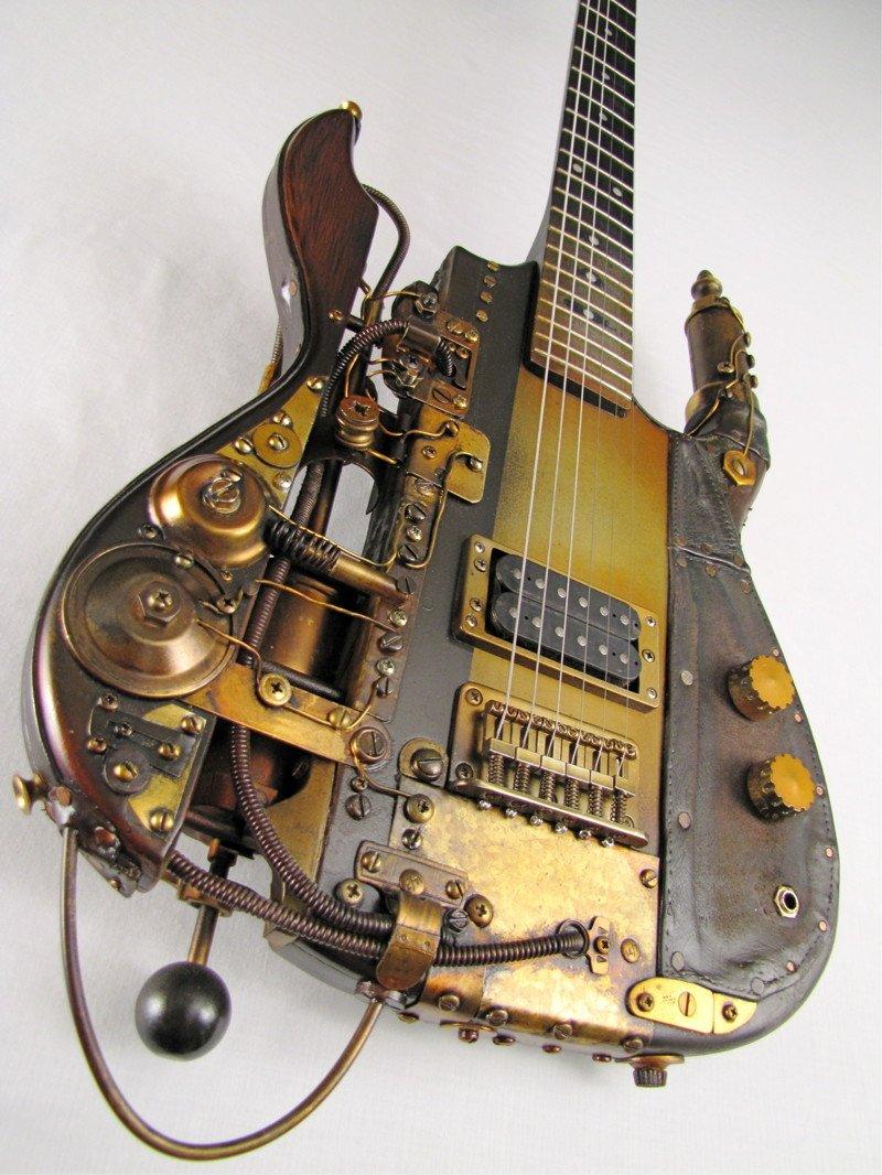Удивительные инструменты в стиле стимпанк