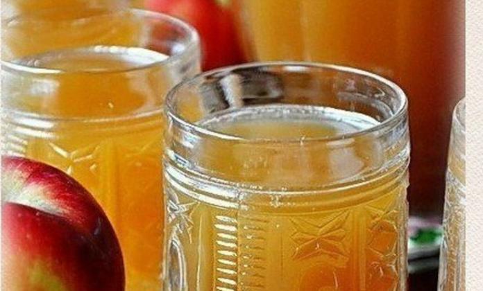 Квас на яблочном соке. Готовить быстро и просто