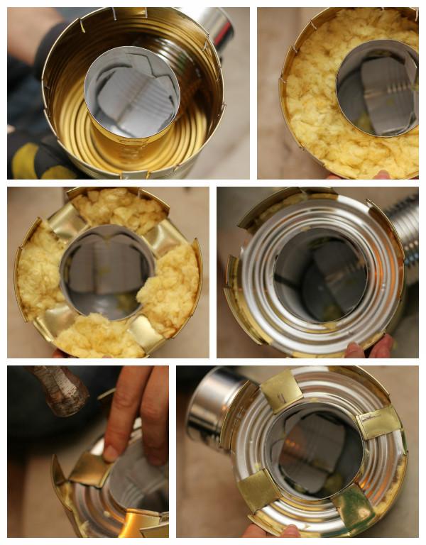 Как из банок сделать печку
