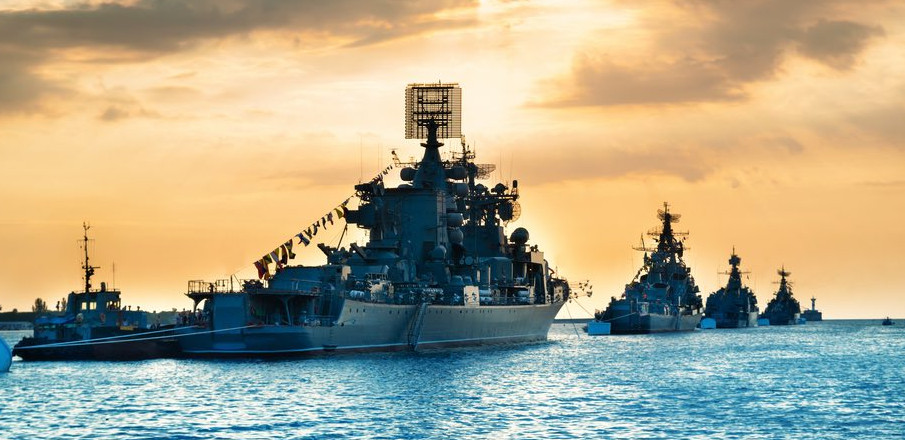 Черноморский флот РФ и НАТО.…