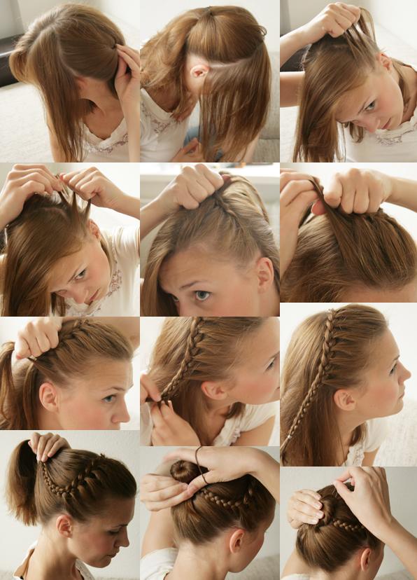 Как быстро сделать укладку на непослушные волосы