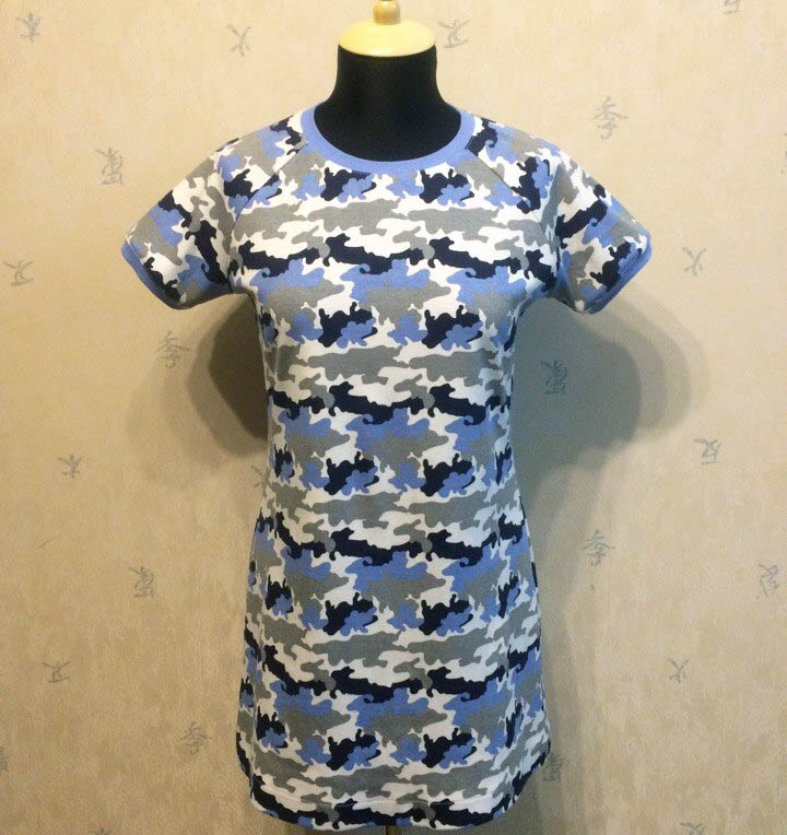 Мастер-класс: шьем трикотажное платье
