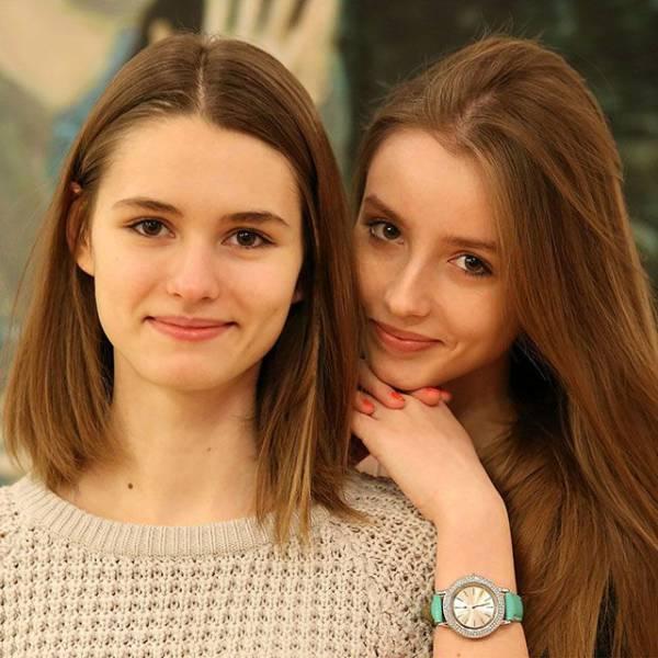 Девушки с естественной красотой (50 фото)
