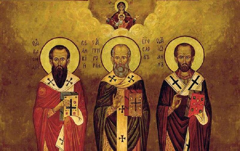 Традиции в День трех святых