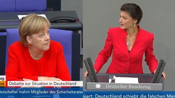 Скандал в немецком парламент…