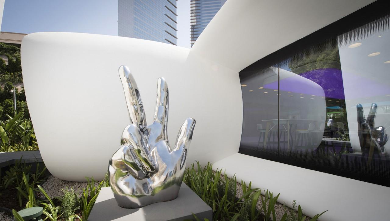 Инновационный офис будущего в Дубае