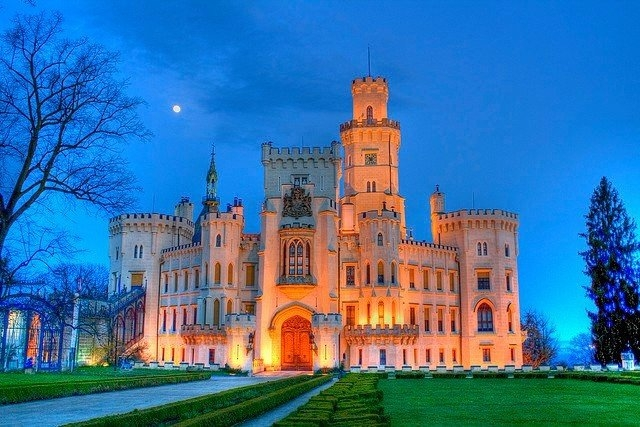 Замок Глубока-над-Влтавой - …