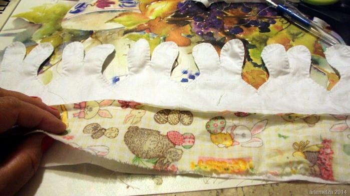 Текстильная корзинка из пасхальных зайцев. Мастер-класс (12) (700x393, 328Kb)