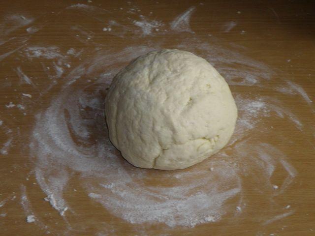 Оставим тесто минут на 20. пошаговое фото приготовления творожного печенья