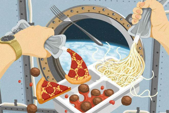 Сухпай космонавта: что едят в космосе