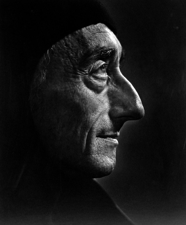 Jacques Couseteau by Yousuf Karsh