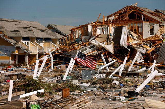 Последствия тропического шторма «Майкл» в США