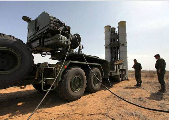 SANA: РФ впервые применила С-400 в Сирии