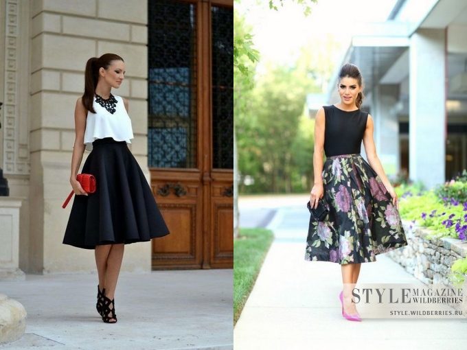 Самые женственные юбки сезона и идеи романтичных сочетаний!