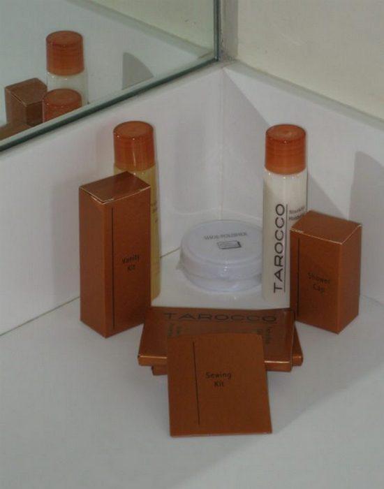 Гостиничные тонкости: туалетные принадлежности.